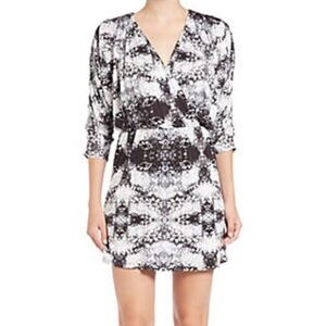 Parker Catalina Mirror Print Mini Dress
